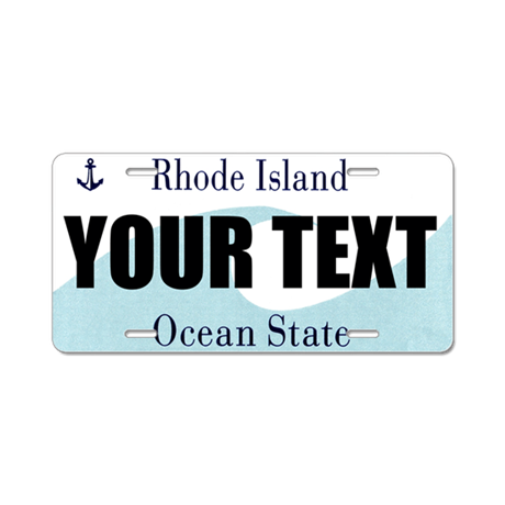 Rhode Island Custom License Plate