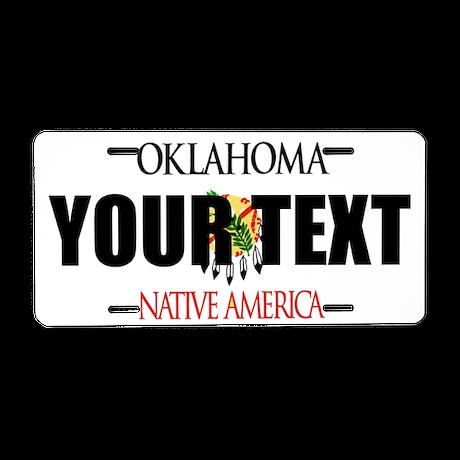 Oklahoma Custom License Plate