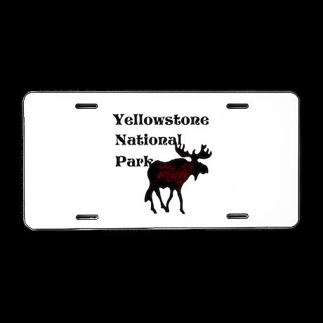 Personalized Moose Aluminum License Plate