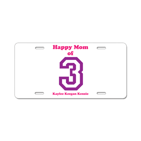 Personalized Mother Aluminum License Plate