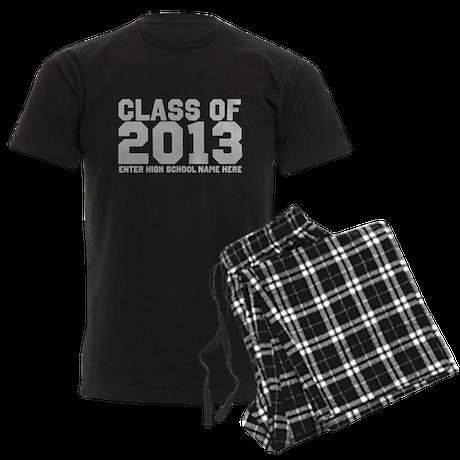 2013 Graduation Men's Dark Pajamas