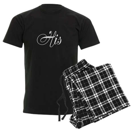His and Hers Pajamas Men's Dark Pajamas