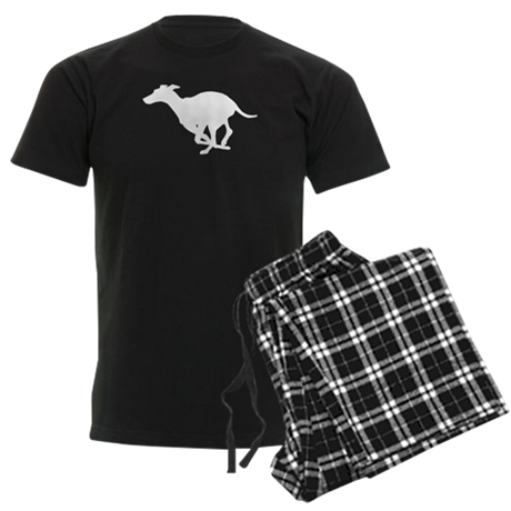 Grey Hound Men's Dark Pajamas