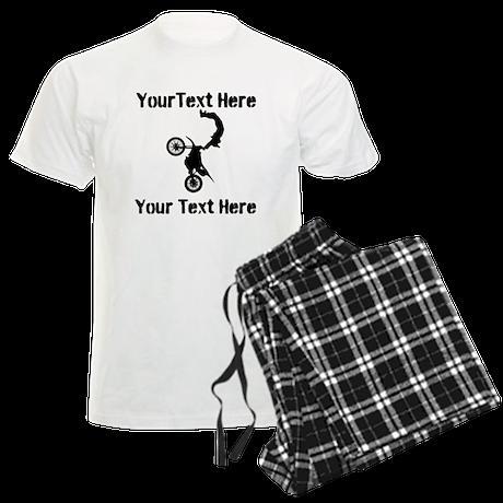 Eat Sleep Jump - Custom Text Men's Light Pajamas