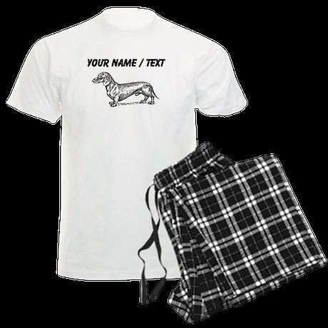 Custom Dachshund Sketch pajamas