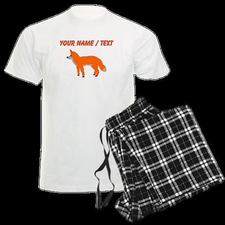 Custom Orange Fox Pup pajamas