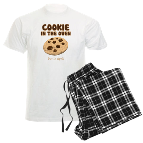 Personalize Cookie Oven Men's Light Pajamas