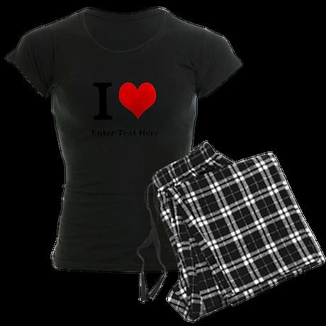 I love... Women's Dark Pajamas