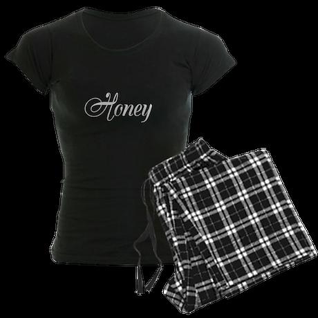 Honey his and hers pajamas Women's Dark Pajamas