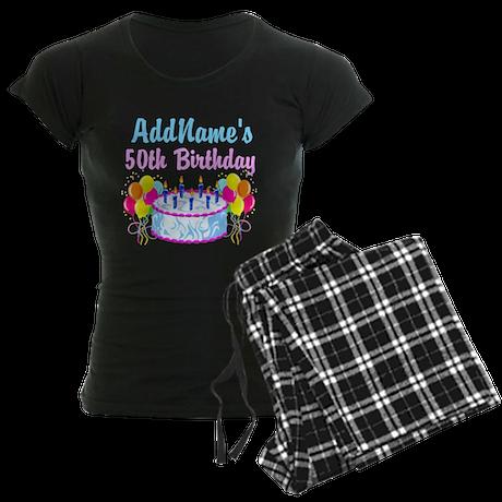 HAPPY 50TH PARTY Women's Dark Pajamas