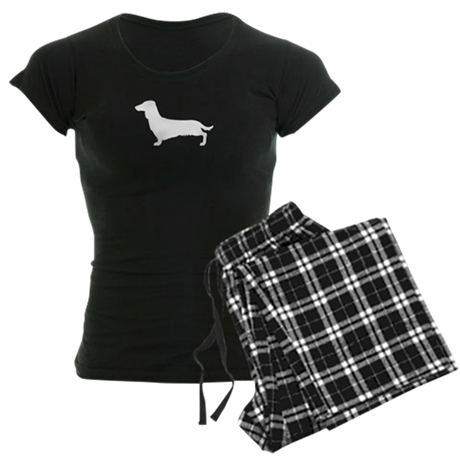 Dachshund Women's Dark Pajamas