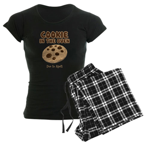 Personalize Cookie Oven Women's Dark Pajamas