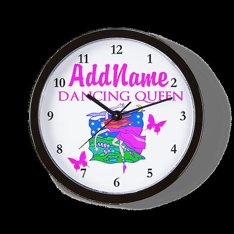 DANCE PRINCESS Wall Clock