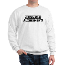 Cute Support alzheimer%27s Sweatshirt