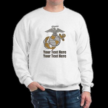 PERSONALIZED Marines Sweatshirt
