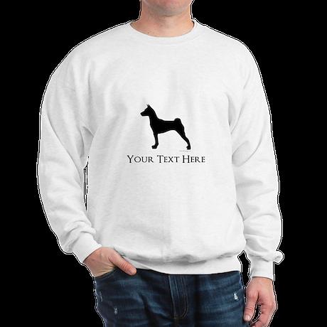Basenji - Your Text! Sweatshirt