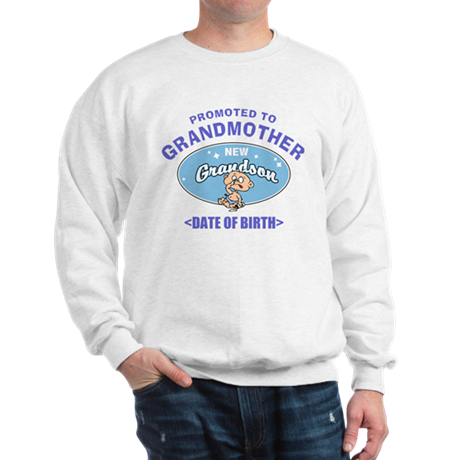 Personalized New Grandmother Sweatshirt