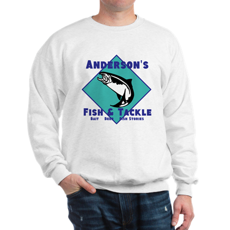 Personalized fishing Sweatshirt
