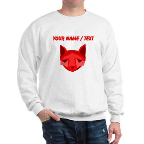 Custom Red Fox Sweatshirt
