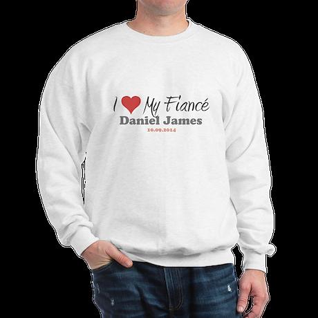 I Heart My Fiancé Sweatshirt