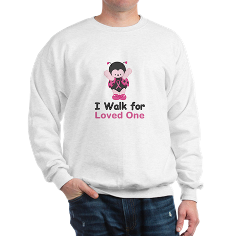 Walk For Ladybug Sweatshirt