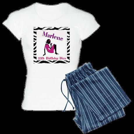 Personalised Women's Pyjamas - Birthday Diva