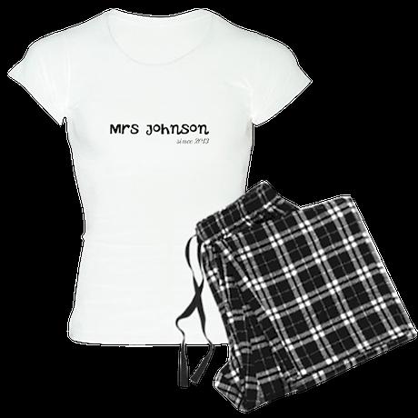 Mrs since wedding year Women's Light Pajamas
