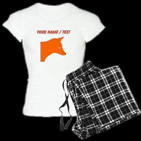 Custom Orange Fox pajamas