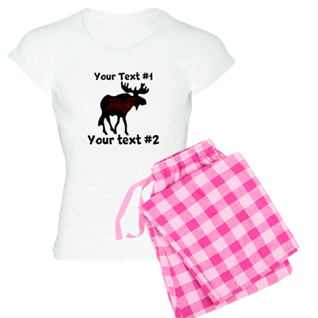 customize Moose Women's Light Pajamas