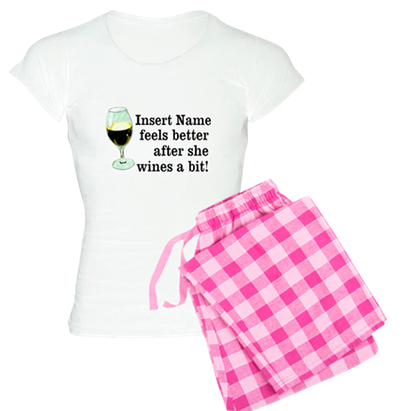 Personalized Wine Gift Women's Light Pajamas
