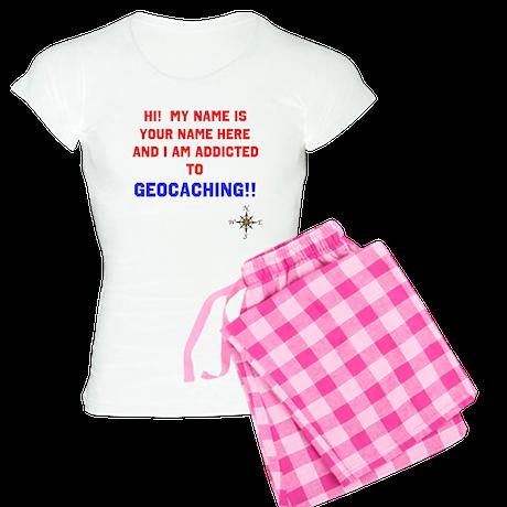 Addicted to Geocaching Women's Light Pajamas