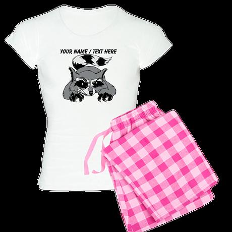 Custom Racoon Pajamas