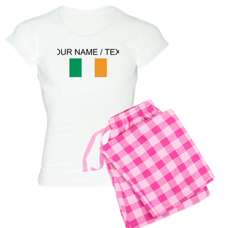 Custom Ireland Flag Pajamas