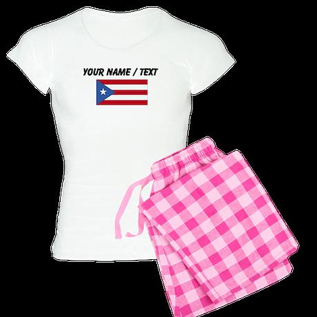 Custom Puerto Rico Flag Pajamas