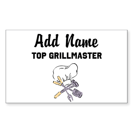 GRILLMASTER Sticker (Rectangle)