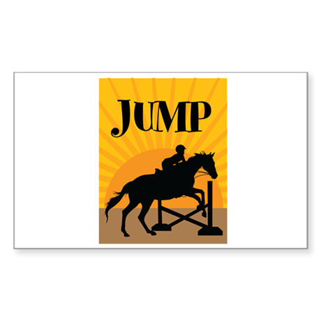 JUMP Sticker (Rectangle)