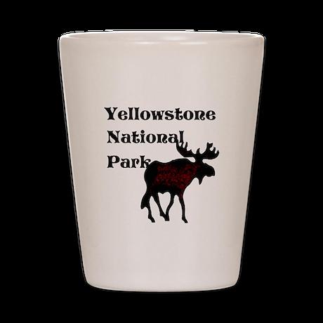 Personalized Moose Shot Glass