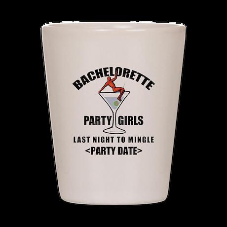 Customize Bachelorette Party (Date) Shot Glass