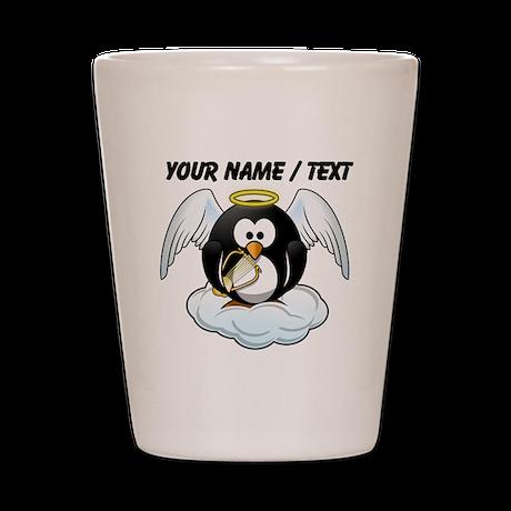 Custom Angel Penguin Shot Glass