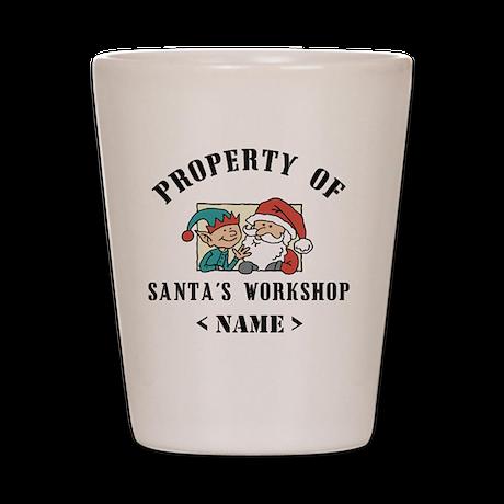 Personalize Property Santa's Workshop (Name) Shot