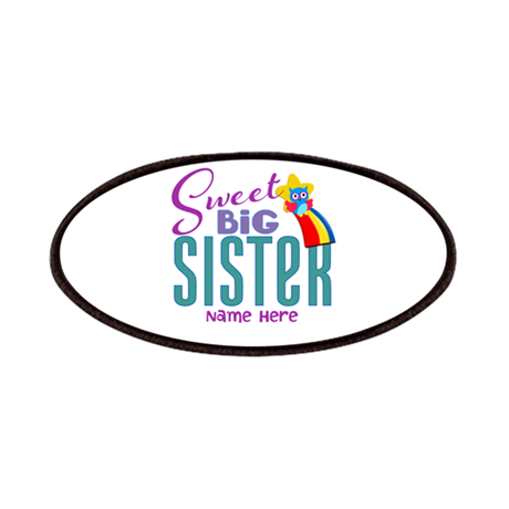 Custom Sweet Big Sister Owl Patches