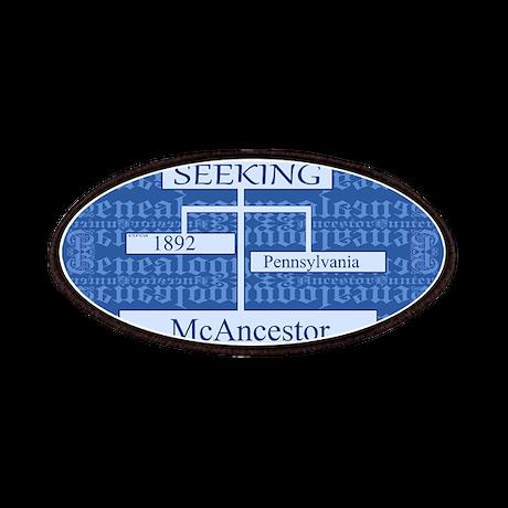 Genealogy Ancestor Seeking Patches