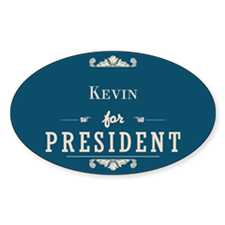 For President 1_Oval Decal