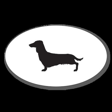 Dachshund Sticker (Oval)