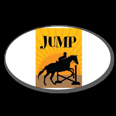 JUMP Sticker (Oval)