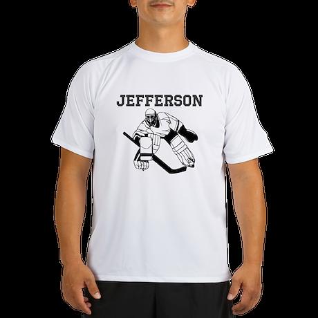 Personalized Hockey Performance Dry T-Shirt
