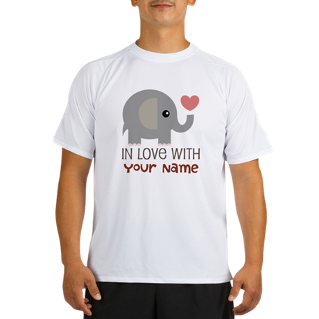 Personalized Matching Couple Performance Dry T-Shi