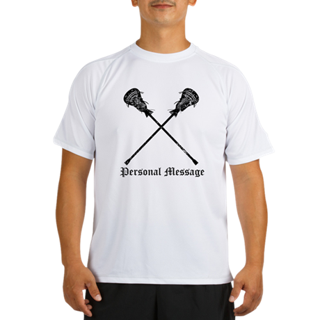 Personalized Lacrosse Sticks Performance Dry T-Shi