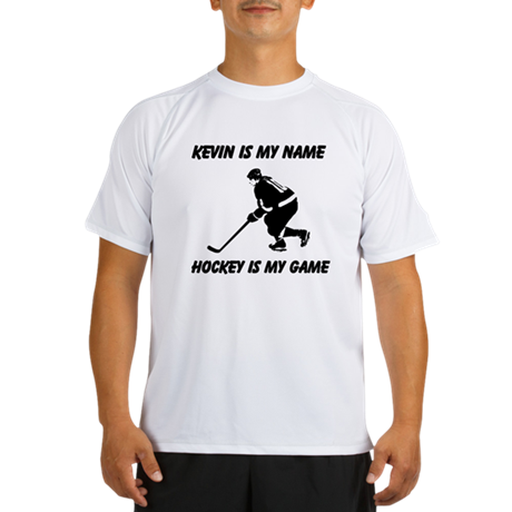 Hockey Is My Game Performance Dry T-Shirt