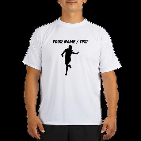 Custom Runner Silhouette Peformance Dry T-Shirt